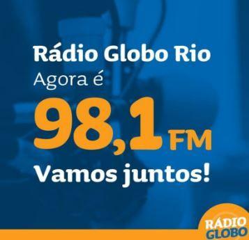 AO VIVO : RÁDIO GLOBO RIO AM 1220 FM 98,1